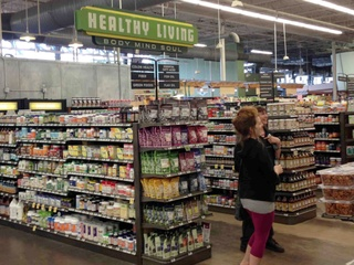 Central Market Westgate Healthy Living department