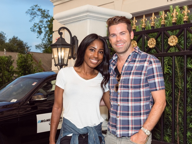 Houston, Carnegie Homes event, July 2017, Dee Brown, Derrick Shore