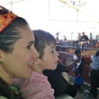 RodeoHouston, family friendly attractions, March 2013, watching mutton bustin'