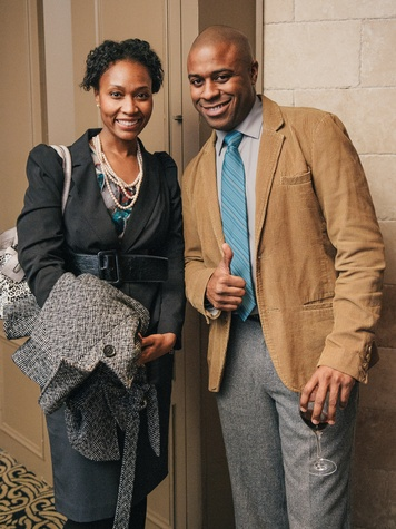 022, Mixers on the Map, Hotel ZaZa, January 2013, Erika Glenn, Toure Jones