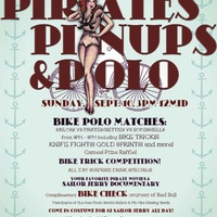 Austin Photo: Events_Pirates Pinups and Polo_Poster