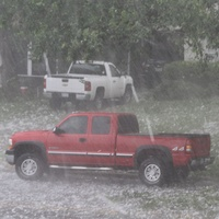 Dallas Hail Storm, Rain/Hail, June 2012