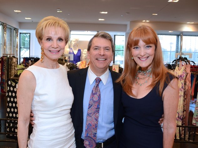 1 Leisa Holland-Nelson, from left, Roland Garcia and Gracie Cavnar at Fashion Gene at Tootsies May 2014
