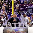 Ray Lewis Jim Nantz Super Bowl