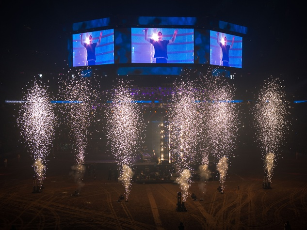 The Chainsmokers Houston Rodeo fireworks 2017