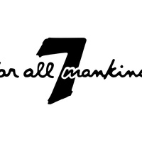 7 For All Mankind logo in black and white
