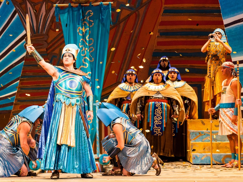 Houston Grand Opera Verdi's Aida with Riccardo Massi as Radames