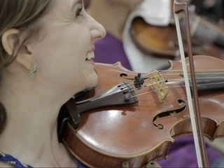 Texas Music Debussy, June 2012, violin, viola