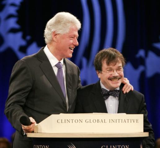 Peter Hotez & Clinton
