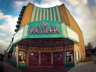 New sign at the Kessler Theater in Oak Cliff