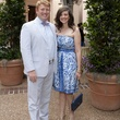 Mason and Catherine Herring at the Rienzi Spring Party April 2014