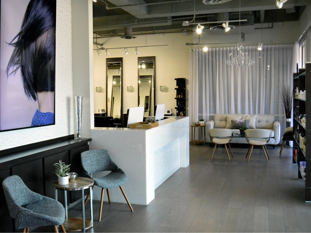 Dallas salon shows good form with second location boasting new spa ...