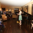 4 Natalya Romaniw with Eric Melear on piano at Perryn Leech's 50th birthday party April 2014