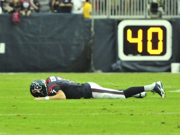 Case Keenum Texans down