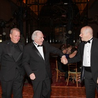 David Ashley White, from left, Carlisle Floyd and Patrick Summers at Moores School Gala March 2014