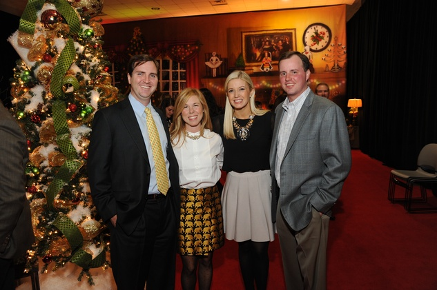 16 9356 Will and Justine Klinke, from left, and Sarahbeth and Taylor Pipkin at the Theta Charity Antiques Show Preview Party November 2014