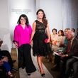 93 Maria Alcala-Herrera, left, and Angelica Alcala Herrera at Elizabeth Anthony's Generations of Glamour event May 2014