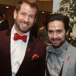 30 Jeff Shell, left, and Tarek Elbjeirmi at the World AIDS Day luncheon.