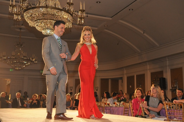Arnaldo Rojas and Katherine Whaley at the Star of Hope Celebrity Fashion Show May 2014