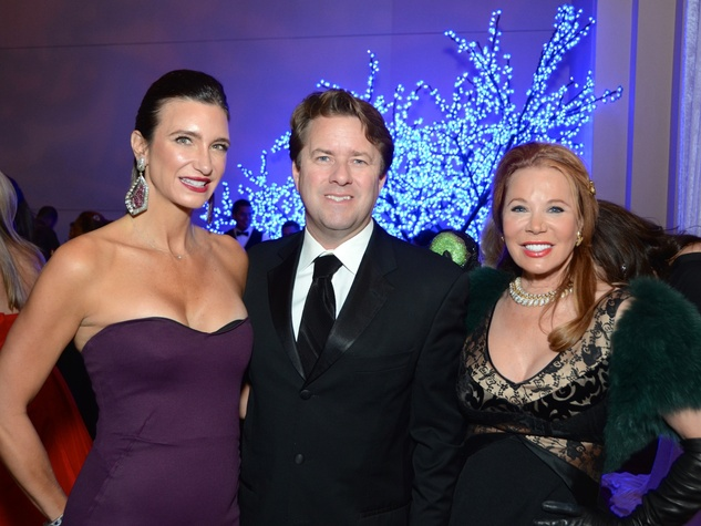 37 Melissa and Mike Mithoff, from left, with Cindy Rose at the UNICEF Gala October 2014