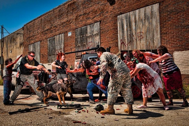 "Houston Zombie Walk hosts ""The Rocking Dead"""