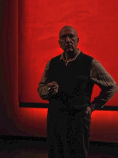 News_Alley Theatre_Red_Scott Wentworth as Rothko and Jay Sullivan as Ken