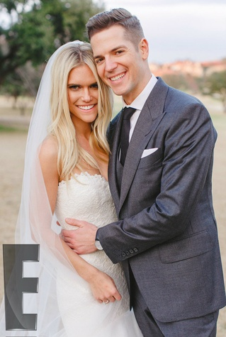 Lauren Scruggs and Jason Kennedy married