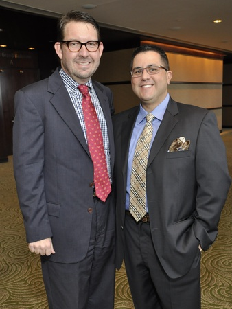 008, World AIDS Day luncheon, December 2012, Joel Bickley, Roland Maldonado