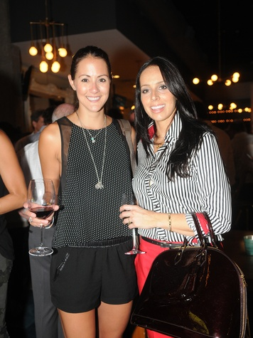 20 Coppa Osteria party September 2013 Julia Bertillion, Sara Cole