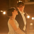 Felicity Jones and Eddie Remayne in The Theory of Everything