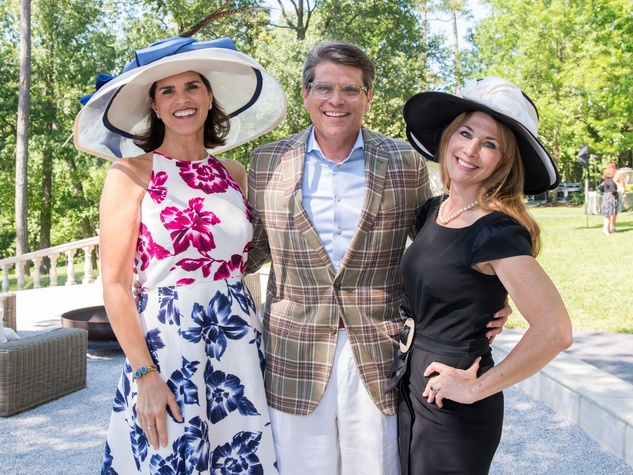 Houston, Hats, Hearts & Horseshoes benefiting Bo's Place 2017, May 2017, Lisa Malosky, Stephen Lewis, Allison Lewis
