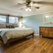 Master bedroom at 1500 Stoneham Place in Richardson