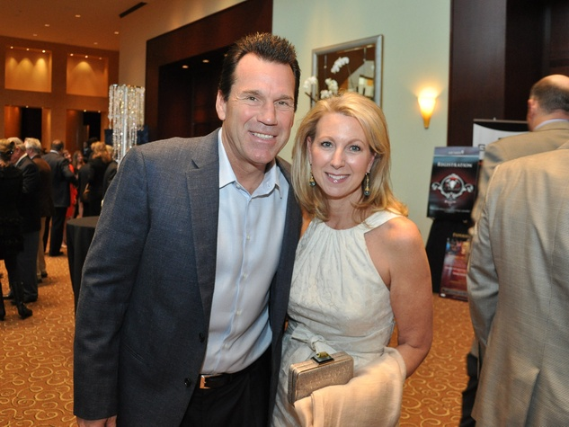 Matt Schaub's foundation dinner April 2013 Gary Kubiak, Rhonda Kubiak