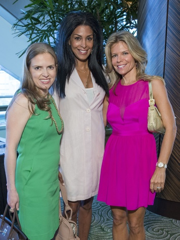 13 Luba Bigman, from left, Ursaline Hamilton and Stephanie Perkins at the Latin Womens Initiative May 2014