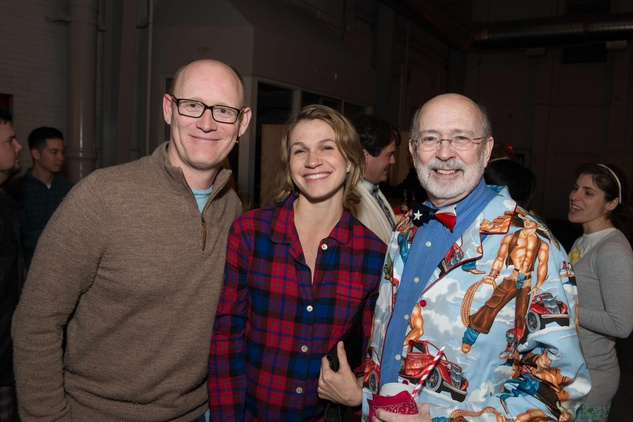 Kyle and Kelly Kubin, from left, with C.C. Conner at the Hope Stone Gala March 2014