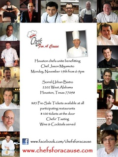 """Chefs For A Cause"" benefiting chef Jason Miyamoto"