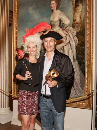 Rienzi Punch Party, October 2012, Christine Ussher, Brian Ussher