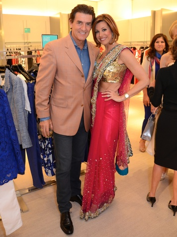 Nick Florescu, Dominique Sachse, Neiman Marcus, April 2014
