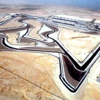 Formula 1 course in Bahrain