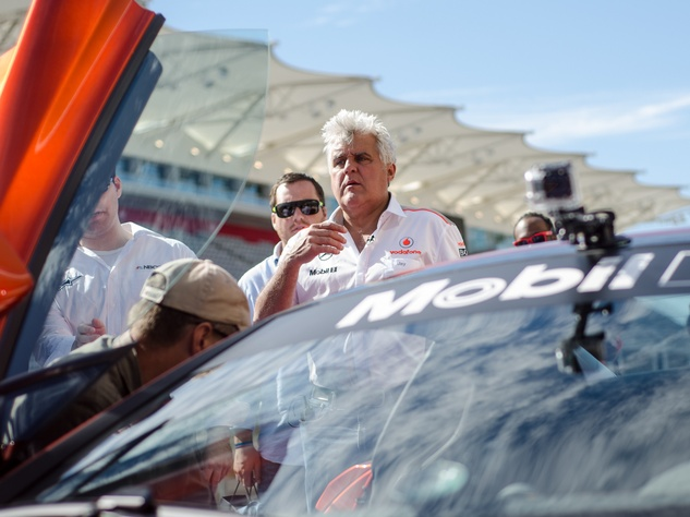 Jay Leno at COTA in Austin 2651
