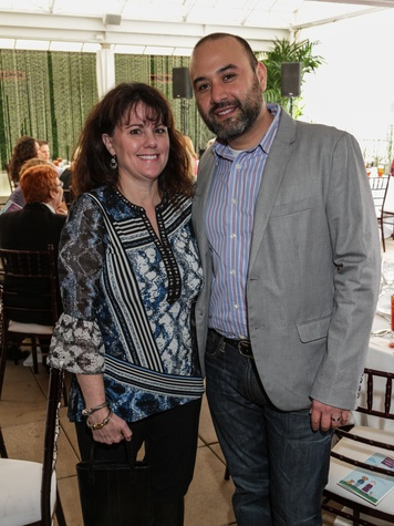 Laura Allen Welch and Gil Lizalde at the Best Friends Brunch February 2014