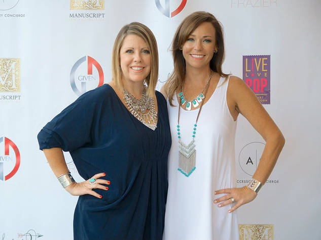 Founders of Accessory Concierge, Amy Coffey and Amy Claro, bachelors in paradise premiere