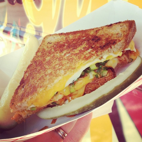 Ruthie, where to eat right now, September 2012, Golden Grill, Kimcheese, grilled cheese sandwich