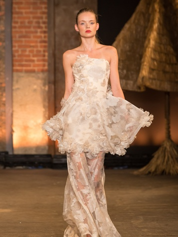Fashion Week spring summer 2014 Christian Siriano Look 38