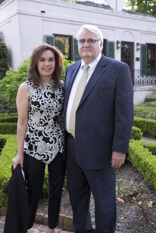 Bayou Bend Garden Party, April 2016, Kim Jameson, Tom Jameson