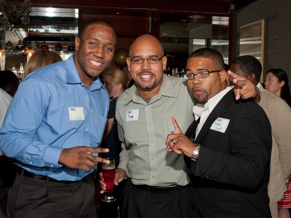 Houston Young Professionals, launch party, June 2012, Isadore Barefields, Joe Dotson, Mark Scott