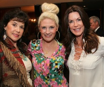 Molly Kitch, Lindsey Williams and Honorary Chair Holly Forsythe, SPCA Paws Cause