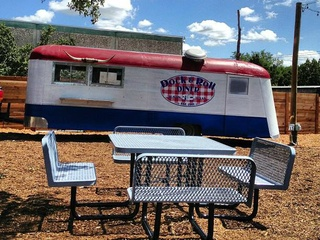 Dock and Roll food truck at Midway Food Park in Austin