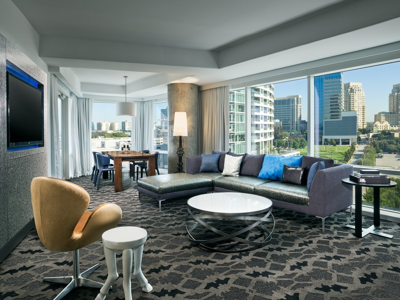 Wow Terrace Suite Living Room W Hotel Renovation
