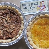 Mighty Sweet Mini Pies, german chocolate pie, Heights